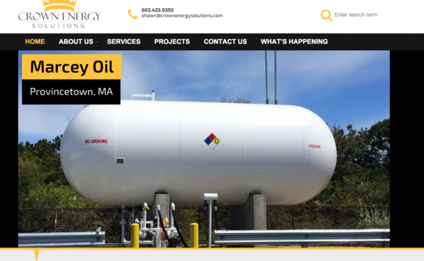 Crown Energy Launches New Website